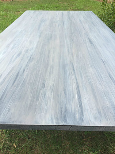 General Finishes DIY Driftwood Table