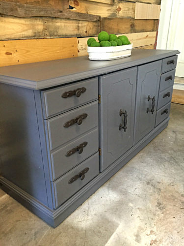 General Finishes Driftwood Gray Buffet Credenza