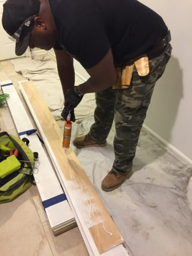 Easy and Inexpensive DIY Shiplap Walls
